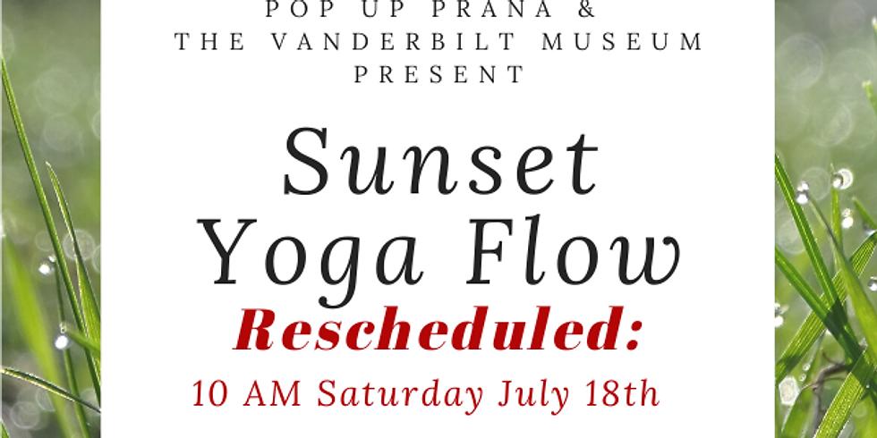Vanderbilt Museum July Sunset Yoga Flow