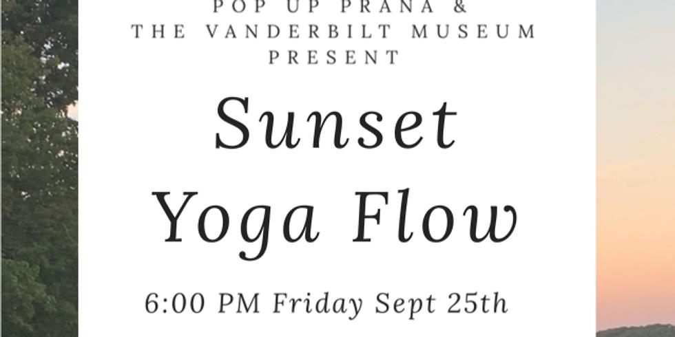 Vanderbilt Museum Septemer Sunset Yoga Flow