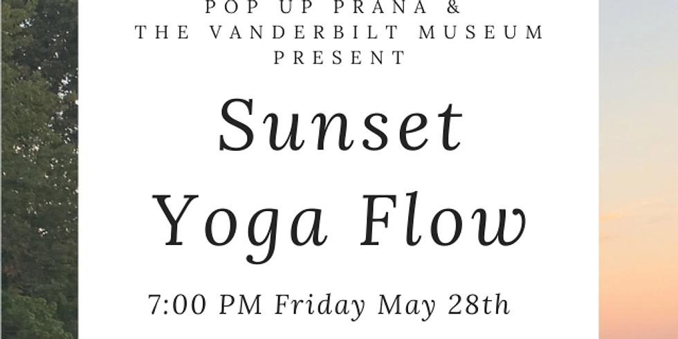 First Vanderbilt Museum Sunset Yoga Flow & 50th Pop Up Celebration!