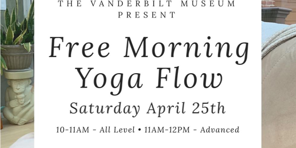 FREE, Virtual Vanderbilt Museum Morning Flow