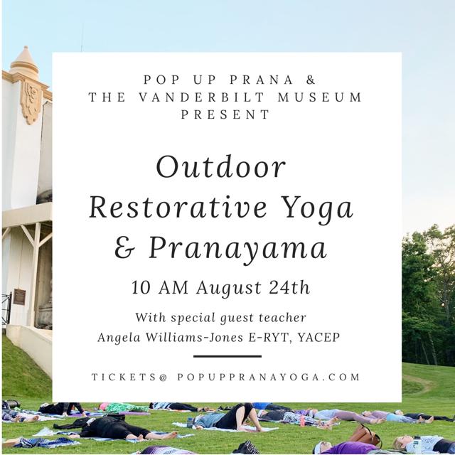 Outdoor Restorative Yoga & Pranayama