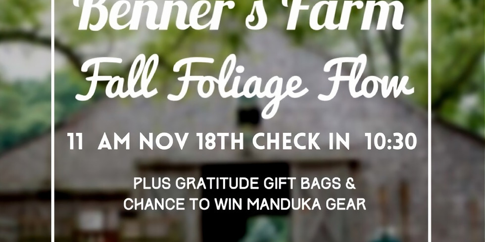 Benner's Farm Fall Foliage Flow