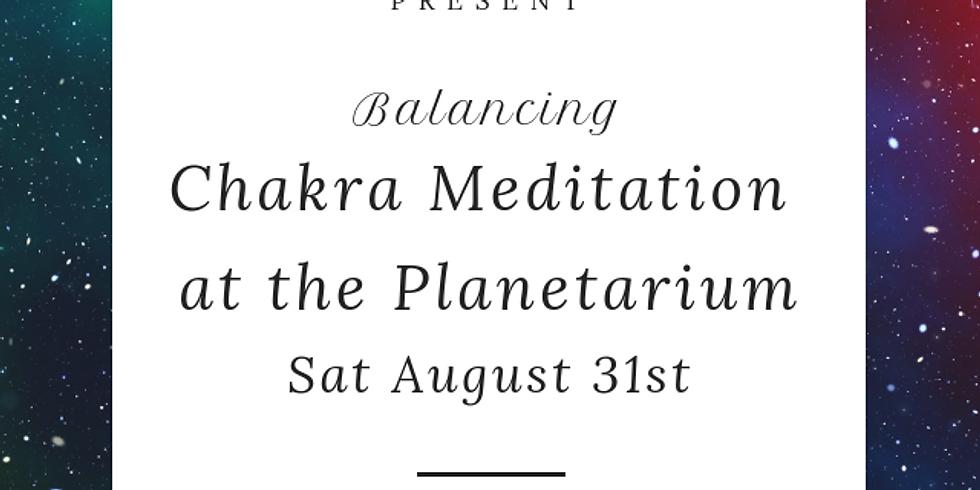 Balancing Chakra Meditation at the Planetarium