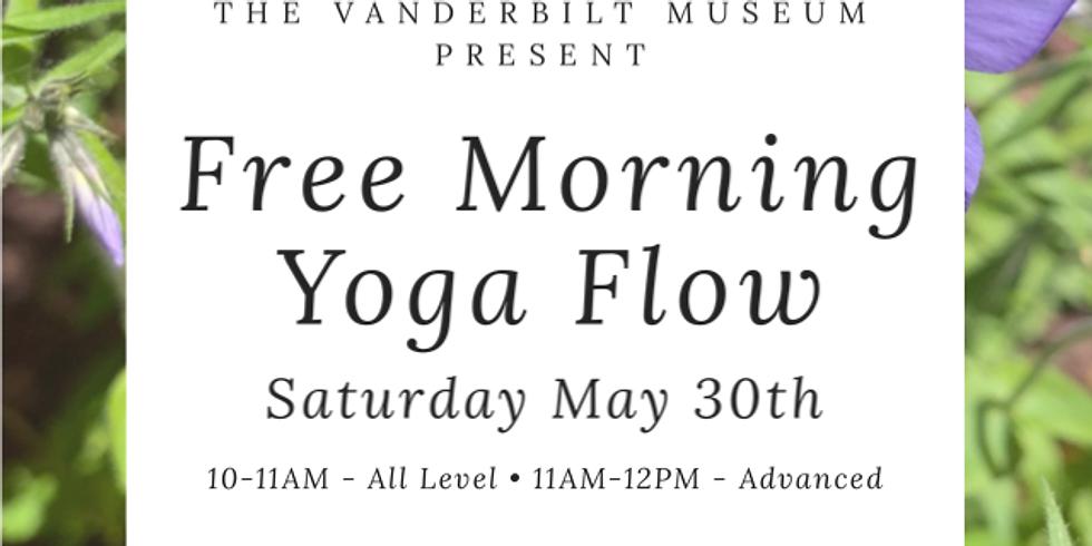 FREE, Virtual Vanderbilt Museum Morning Flow May 30th