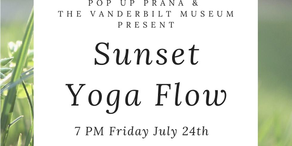 Vanderbilt Museum July Sunset Yoga Flow Series