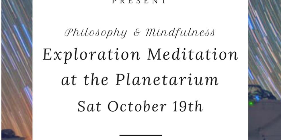 Philosophy & Mindfulness Exploration Meditation