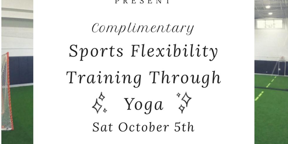 Sports Flexibility Training Through Yoga