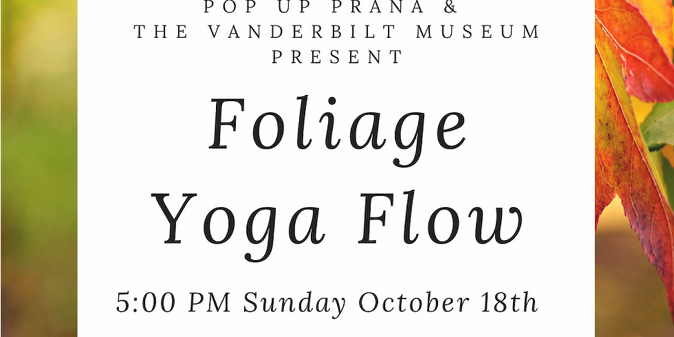 Vanderbilt Foliage Flow