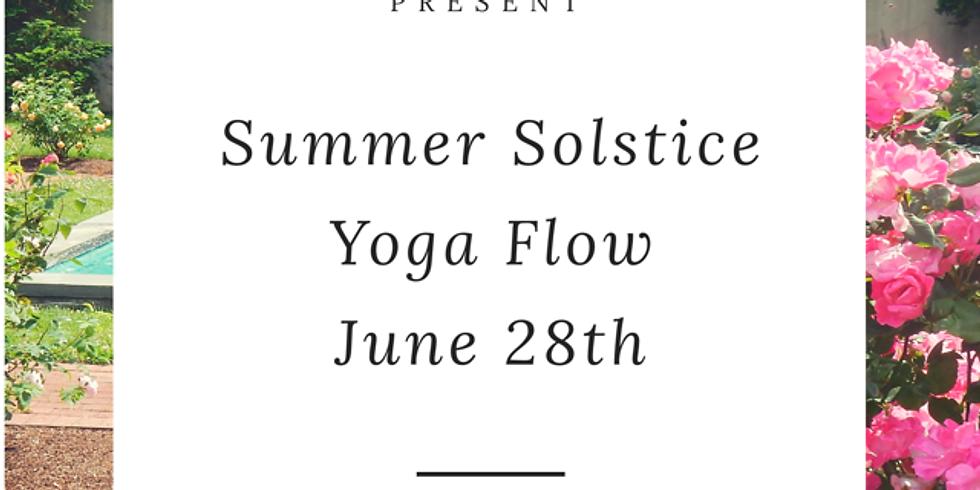 Special Summer Solstice Yoga Flow (Rain Date June 28th)