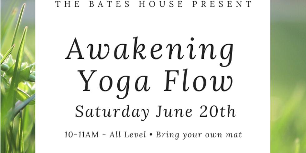 Bates House Outdoor Awakening Yoga Flow