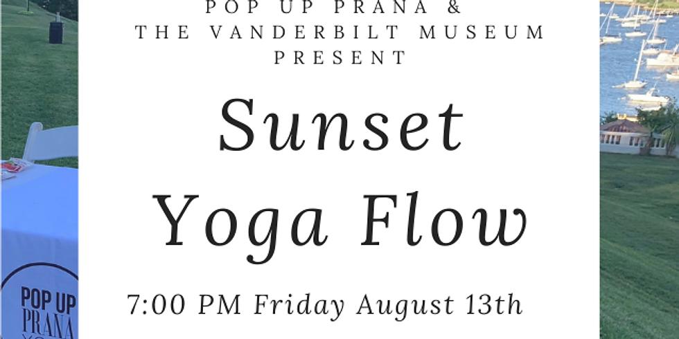 Vanderbilt Museum Sunset Yoga Flow