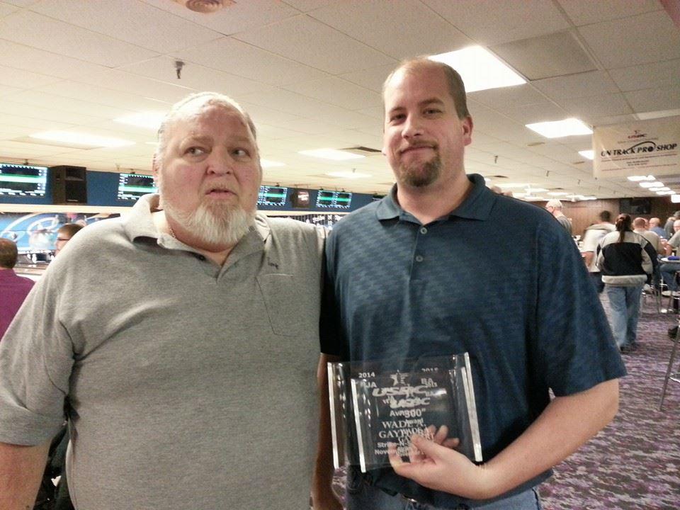 "Wade Gayhart ""800/300 Award"""