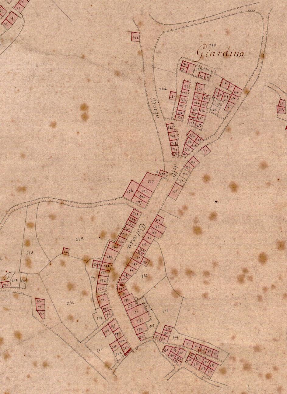 Mappa Giardino