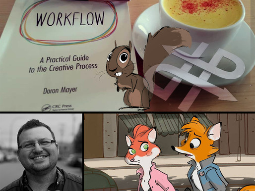 Episode 9: WORKFLOW author, animation director, story artist and teacher Doron Mayer.