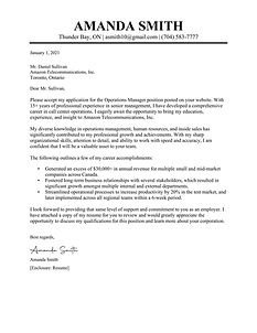 TopStack Cover Letter Sample - Canada 1.