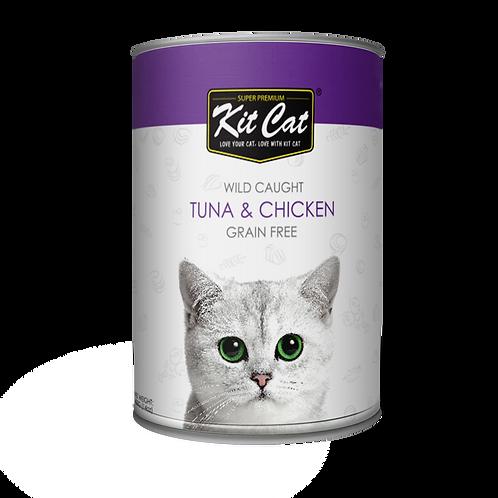 Kitcat Atlantic Tuna With Tender Chicken 400g