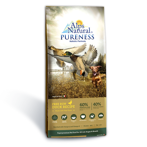 Alps Natural Pureness Holistic Duck Recipe 2 sizes