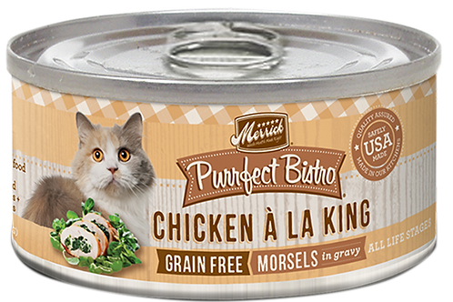 Merrick Purrfect Bistro Chicken A-La King 5.5oz