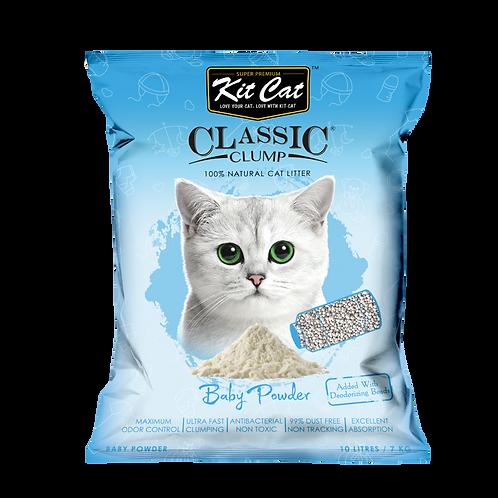 Kitcat Cat Litter 10L/7kg (Baby Powder)