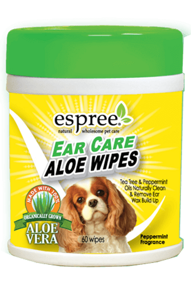 Espree Ear Care Aloe Wipes (60 wipes)