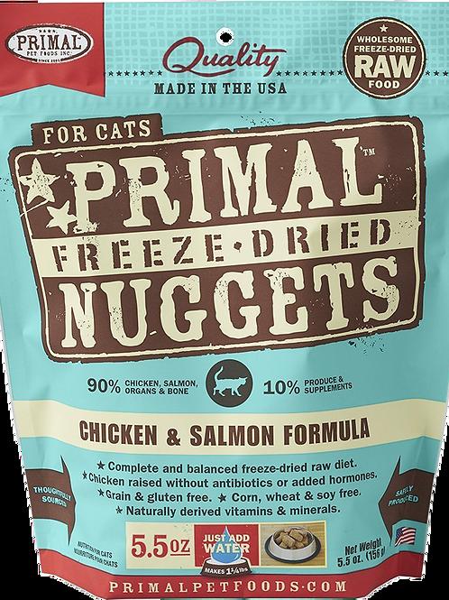 Primal Freeze Dried Feline Chicken-Salmon Formula