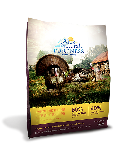 Alps Natural Pureness Holistic Turkey Recipe