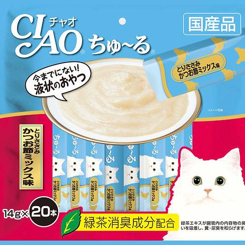 Ciao Churu Chicken Fiilet & Sliced Bonito