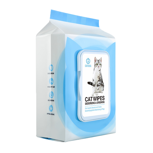 Cat Idea Deodorizing Cat Wipes