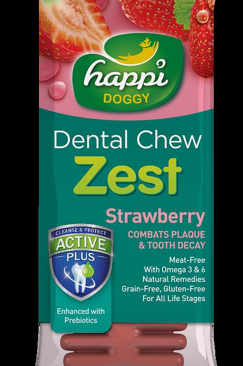 Happi Doggy Dental Chew Zest 25g