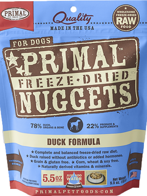 Primal Freeze Dried Canine Pork Formula