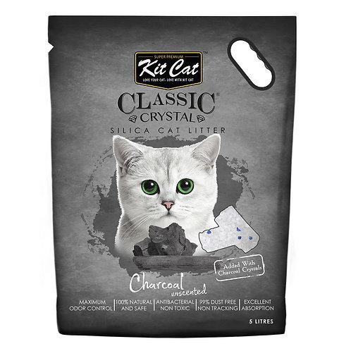 Kitcat Crystal Cat Litter 5L (Charcoal)