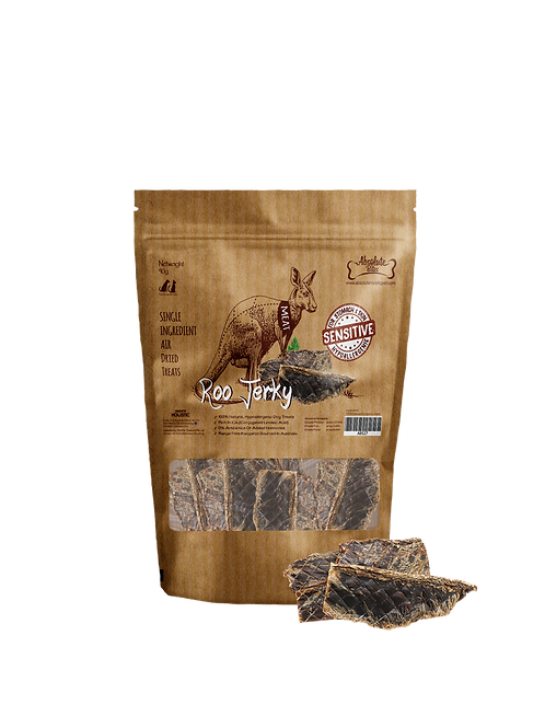 Absolute Bites Air Dried Roo Jerky 90g