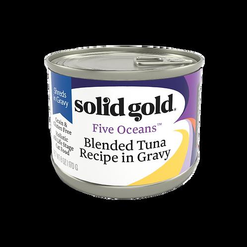 Solid Gold Five Oceans Cat GF Tuna 6oz