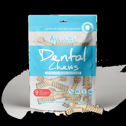 AltimatePet Dental Chews Milk Toothbrush M 150g (9pcs)