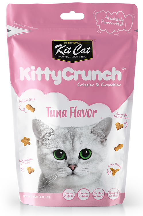 Kit Cat KittyCrunch Cat Bites (Tuna) 60g