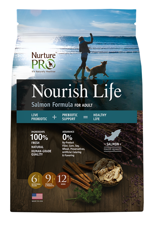 Nourish Life Salmon Formula for Adult