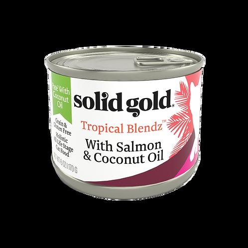 Solid Gold Tropical Blendz GF Salmon Pate 6oz