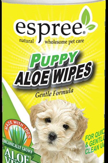 Espree Puppy Aloe Wipes (50 wipes)