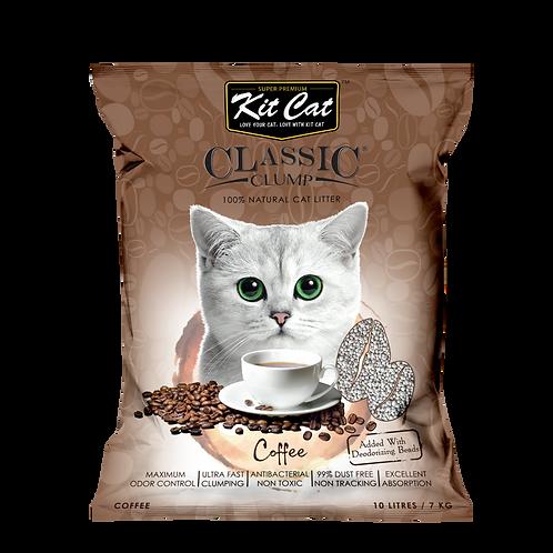 Kitcat Cat Litter 10L/7kg (Coffee)