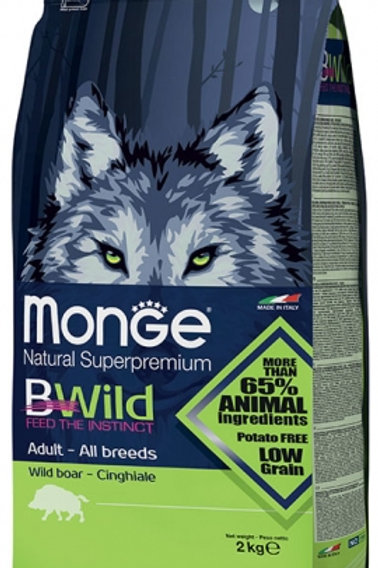 Monge Bwild Adult Boar Dry Dog Food (2 Sizes)
