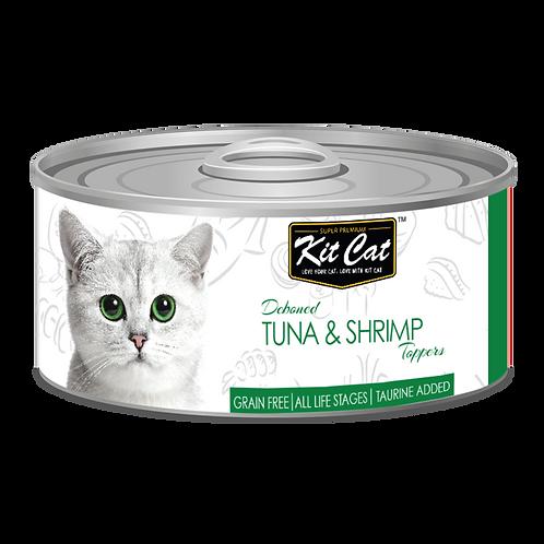 Kit Cat Deboned Tuna & Shrimp Toppers 80g