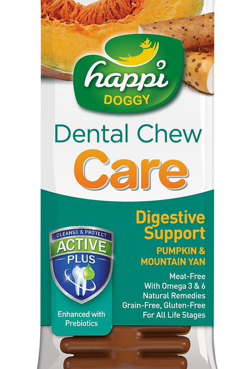"Happi Doggy Dental Chew Care 4"" 25g"