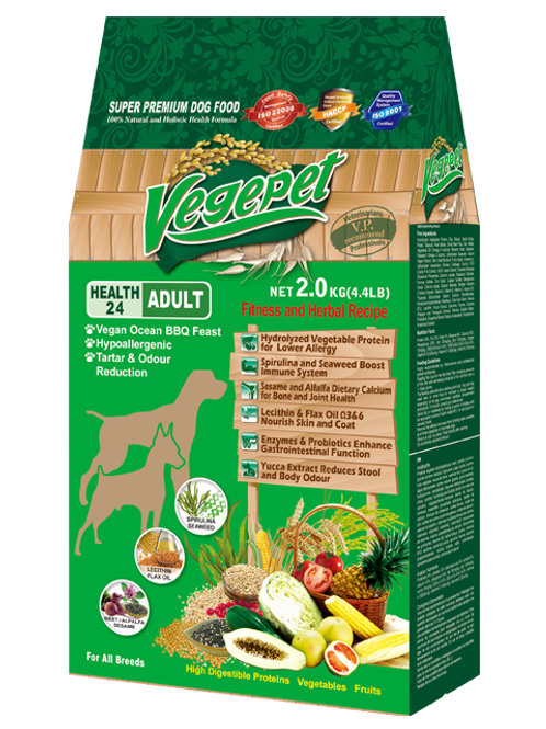 VegePet Super Premium Pet Food For Dog