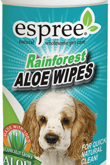 Espree Rainforest Aloe Wipes (50 wipes)