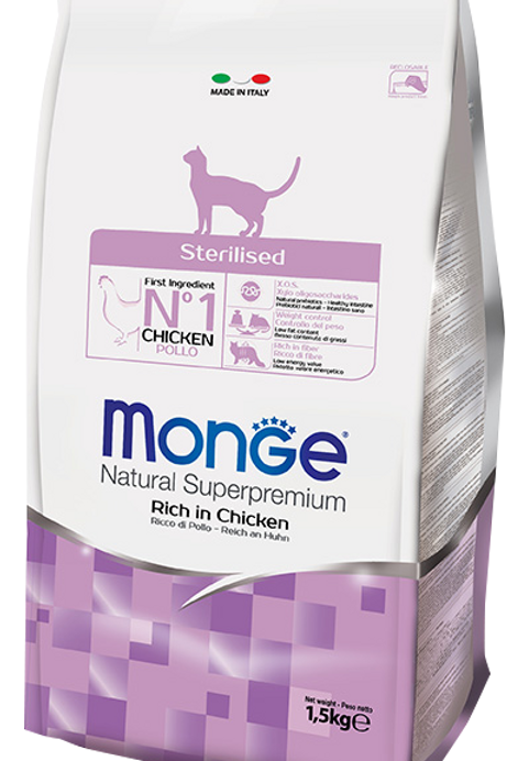 Monge Cat Sterilized 2 sizes