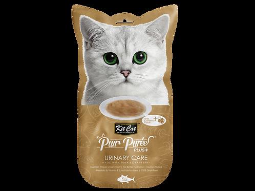 Kit Cat Purr Puree Plus+ Urinary Care 4x15g (Tuna)