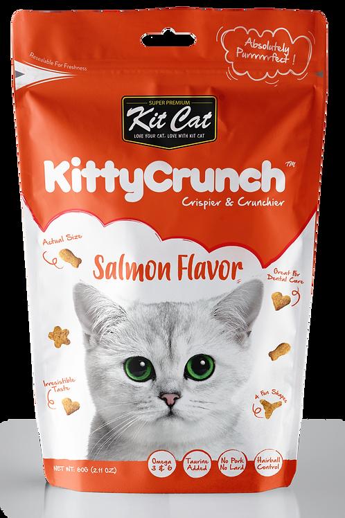 Kit Cat KittyCrunch Cat Bites (Salmon) 60g