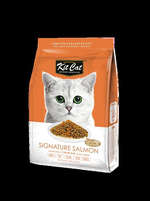 Kit Cat Premium Cat Food Signature Salmon