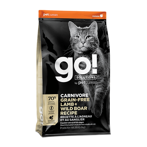 Go! Carnivore CF GF Lamb + Wildboar Recipe 3lbs