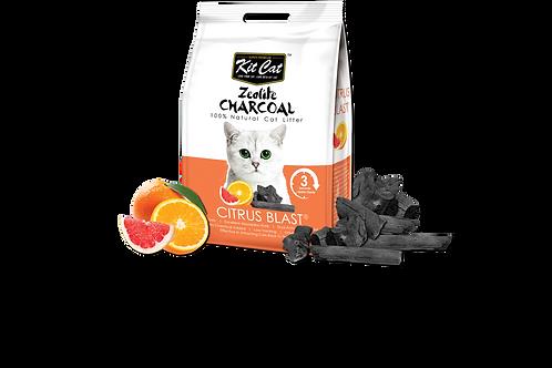 Kit Cat Zeolite Charcoal Citrus Blast 4kg